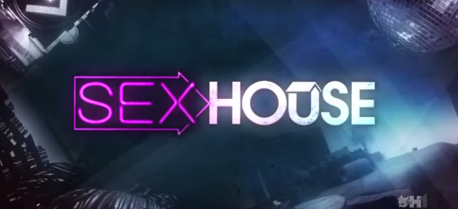 Screengrab of Sex House title credits