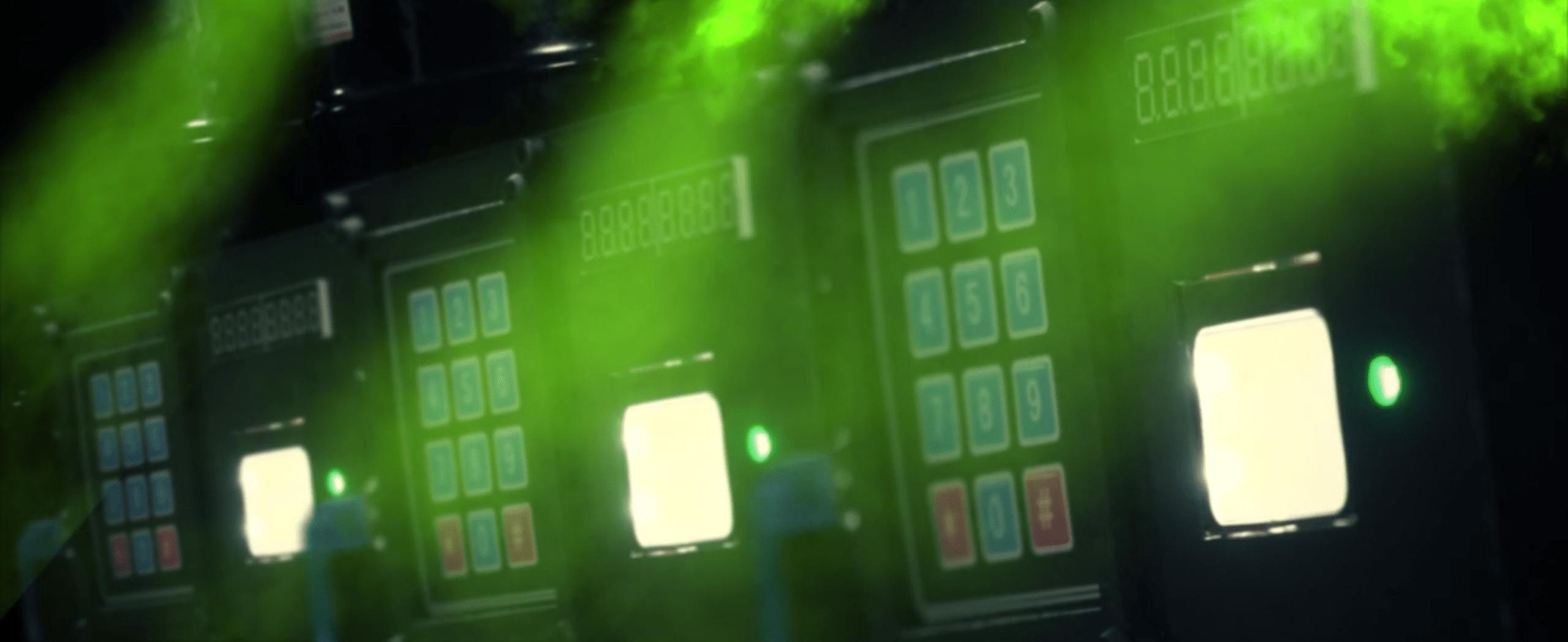 Countdown pads emitting gas